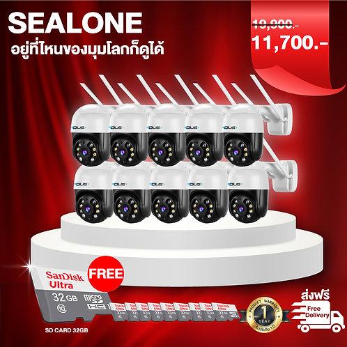 กล้อง sealone 10 ตัว+sd card 32gb 10ชิ้น