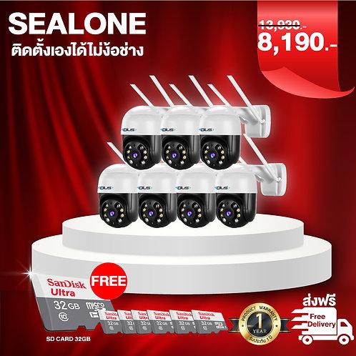กล้อง sealone 7 ตัว+sd card 32gb 7ชิ้น