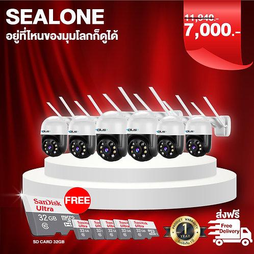 กล้อง sealone 6 ตัว+sd card 32gb 6ชิ้น