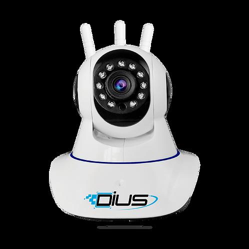 กล้องวงจรปิด 2.2Mp Full HD 1080p Wifi / Wirless IP camera ( App : Dius )