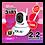 Thumbnail: กล้องวงจรปิด 3 เสา 2.2MP Full HD 1080p Wifi / Wirless IP camera ( App : Dius )