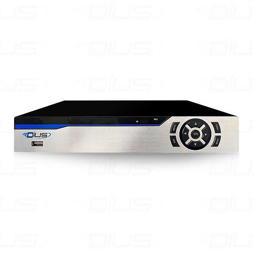เครื่องบันทึกภาพ 5 ล้านพิกเชล 5MP DVR 4K 4CH Digital Video Recorder 6 in 1