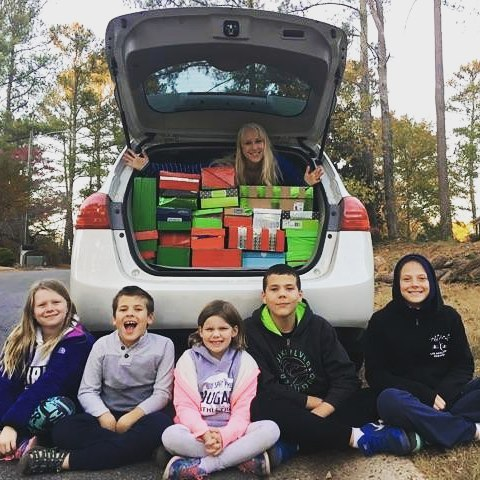 We packed 22 shoeboxes for operation Christmas Child this year! The kids really took it to heart and
