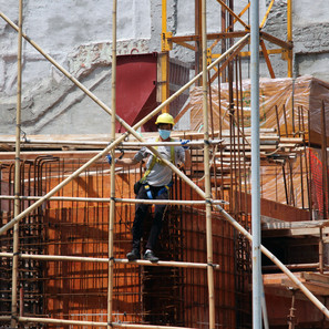 Is the construction industry growing in 2021?