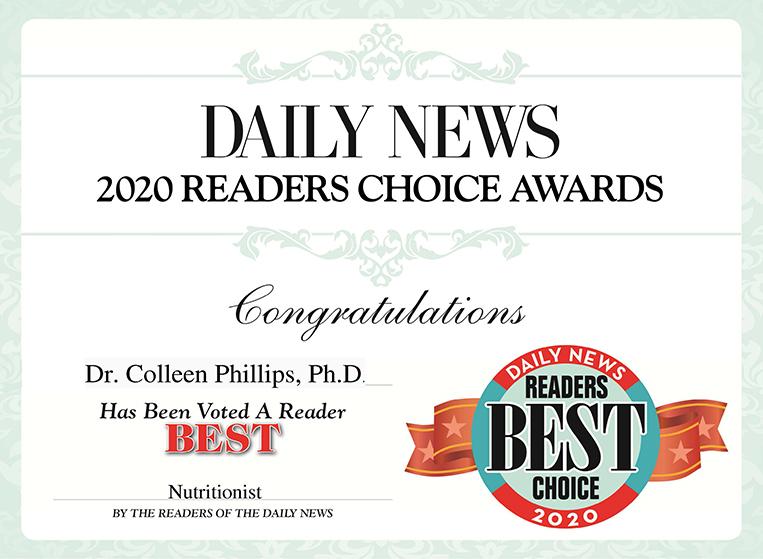 2020 Readers Choice Award Diet Doctors