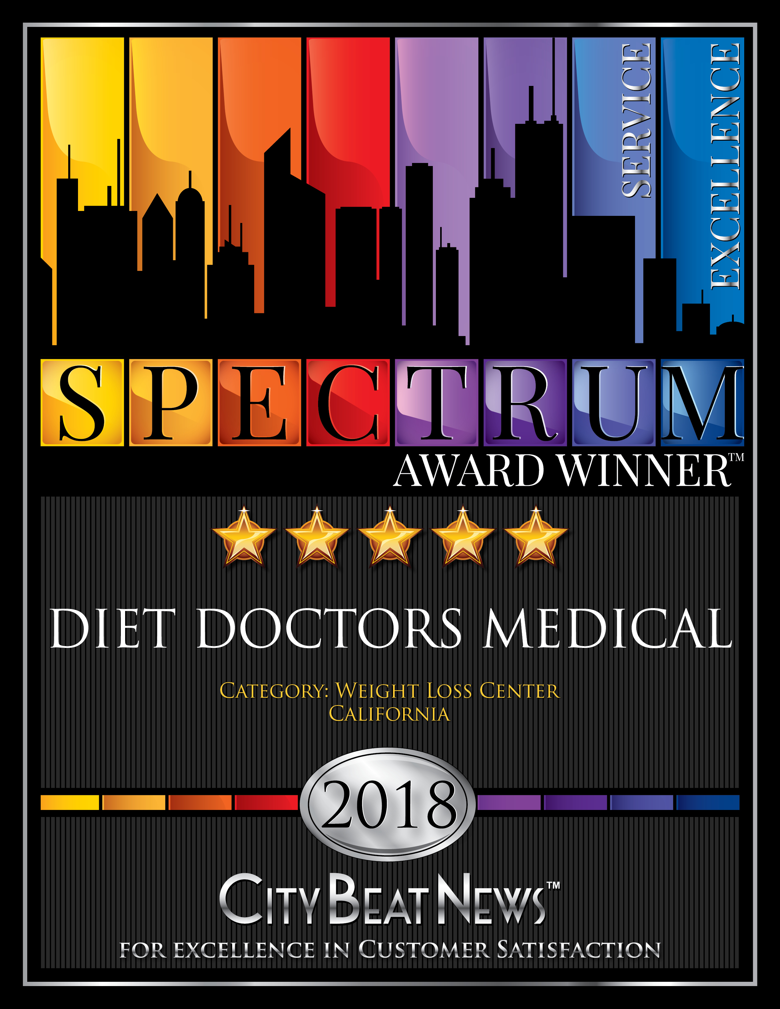 2018 Spectrum Award Diet Doctors