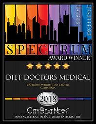2018_spectrum_award_diet doctors_medical