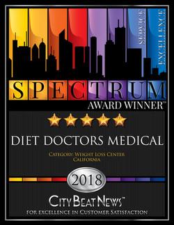 2018 Spectrum Award Diet Doctors
