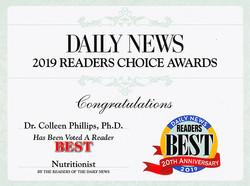 2019 Readers Choice Award Diet Doctors