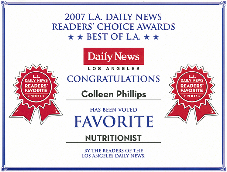 2007 Readers Choice Award Diet Doctors