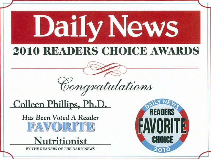 2010 Readers Choice Award Diet Doctors