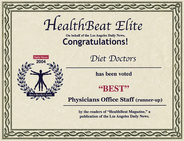 2004 HealthBeat Elite Award