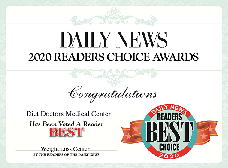 2020 Readers Choice Award Diet Doctors