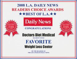 2008 Readers Choice Award Diet Doctors
