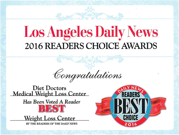 2016 Readers Choice Award Diet Doctors