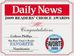 2009 Readers Choice Award Diet Doctors