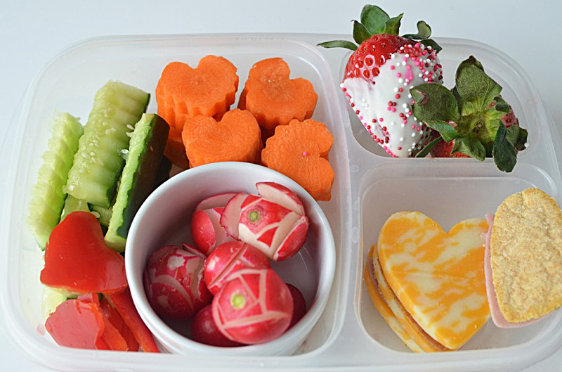 Healthy Valentine's Day Snacks