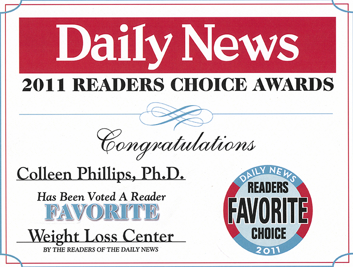 2011 Readers Choice Award Diet Doctors