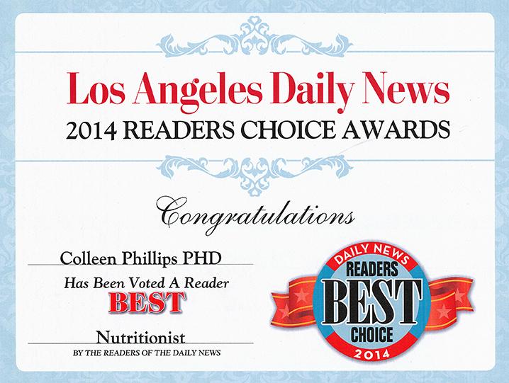 2014 Readers Choice Award Diet Doctors