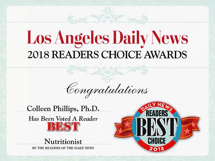 2018 Readers Choice Award Diet Doctors