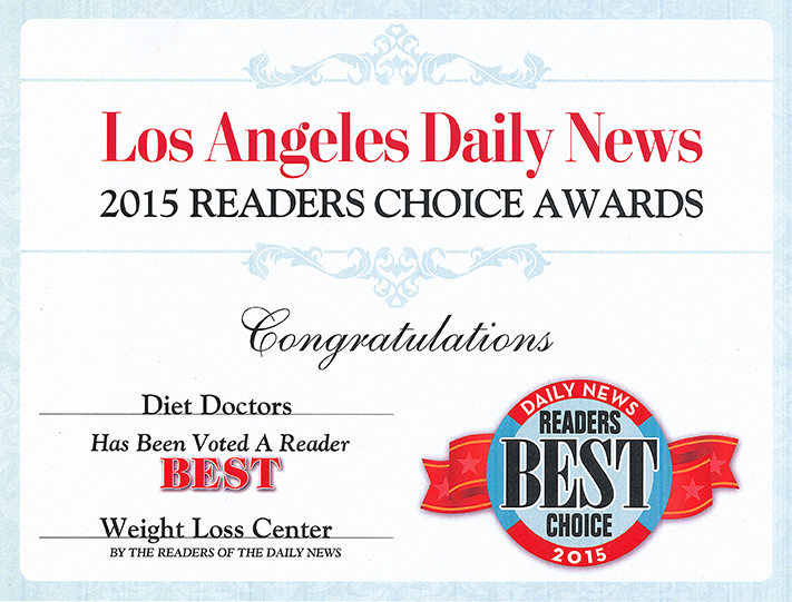 2015 Readers Choice Award Diet Doctors