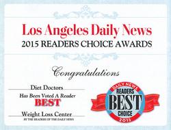 2015 Readers Choice Award Diet Doctors