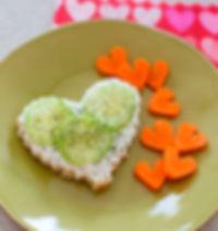 healthy_valentines_snacks_waffle_rice_cu