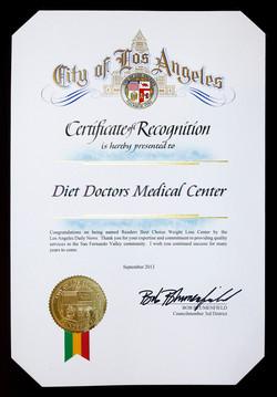 2013 City of LA - Diet Doctors