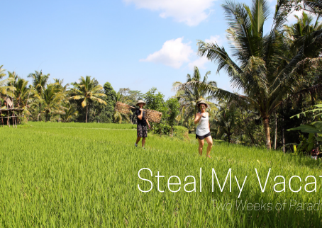 Steal My Vacation: 2 Weeks of Paradise in Bali