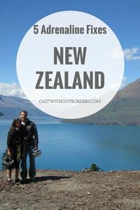 New Zealand Adrenaline Activities Cait Without Borders