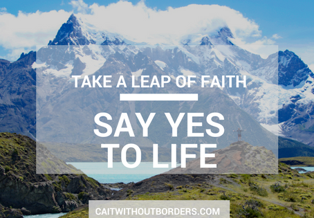 "Take a Leap of Faith--Say ""Yes"" to Life"