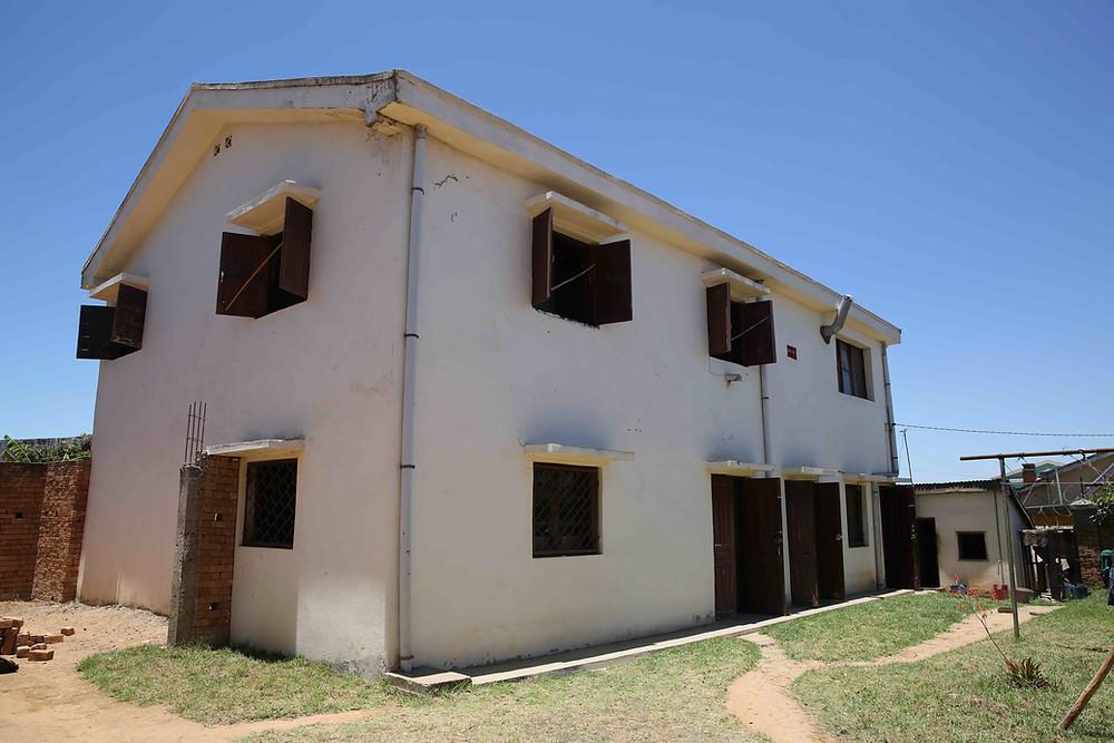 Nouveaux locaux de l'école Règne à Madagascar