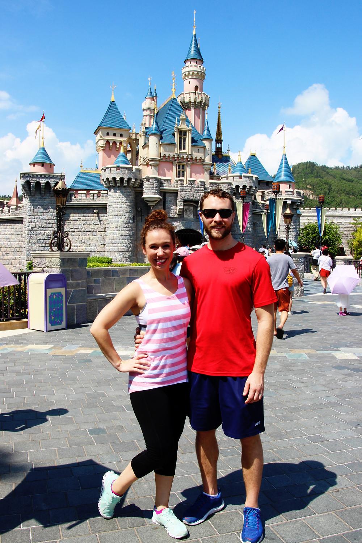 Hong Kong Disneyland's old castle