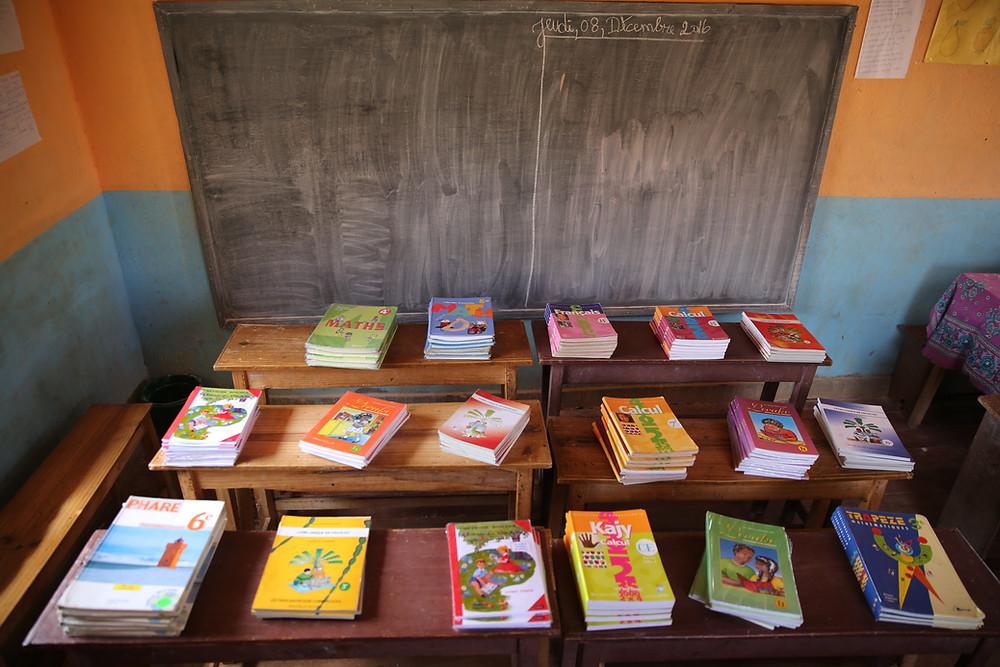 Livres pour l'école Règne à Madagascar