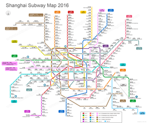 Shanghai Metro Subway Map Cait Without Borders