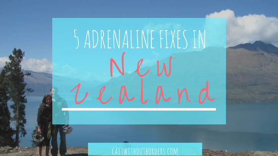 5 Adrenaline Fixes in the Adventure Capital of the World New Zealand Cait Without Borders
