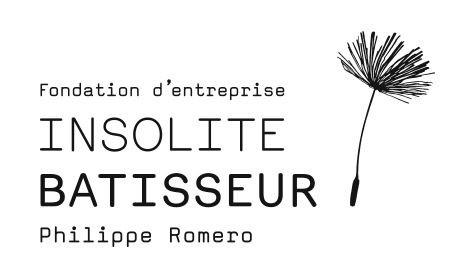 logo de la fondation d'entreprise insolite batisseur Philippe Romero