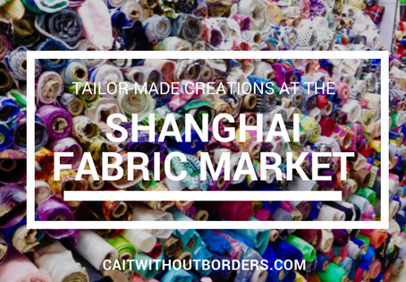 Tailor-Made Creations at the Shanghai Fabric Market