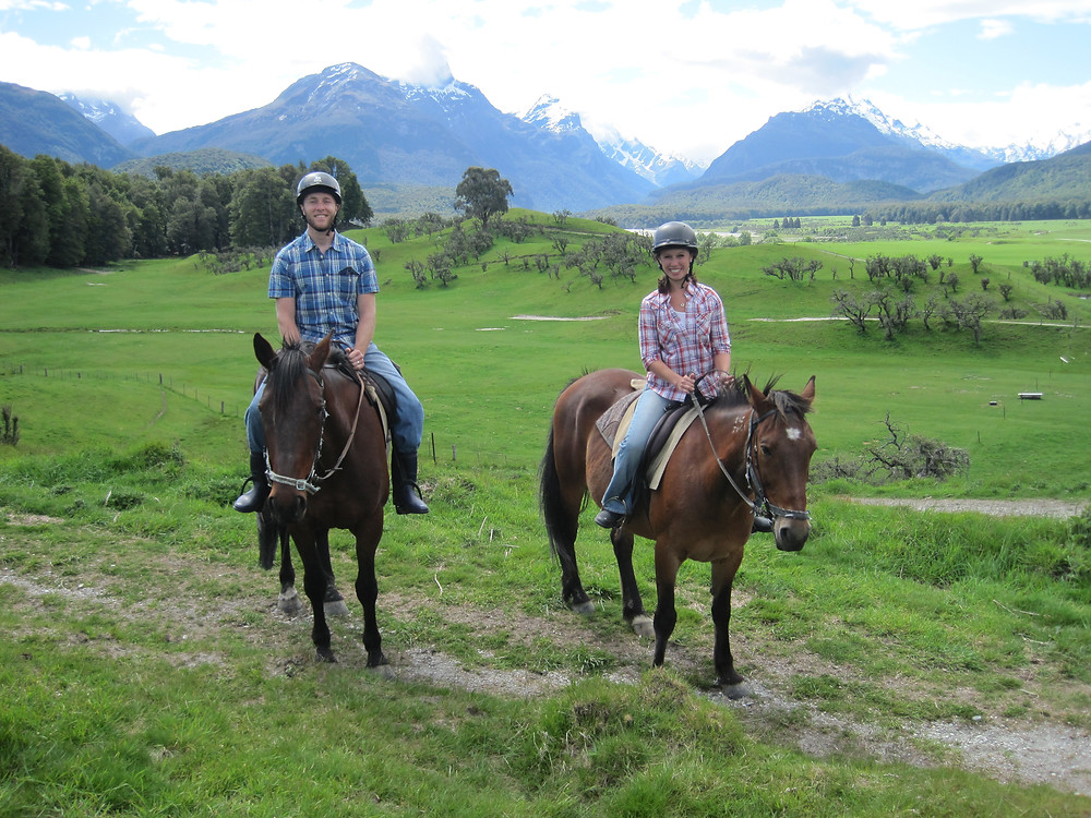 The Dart Stables Lord of the Rings horseback riding tour in New Zealand
