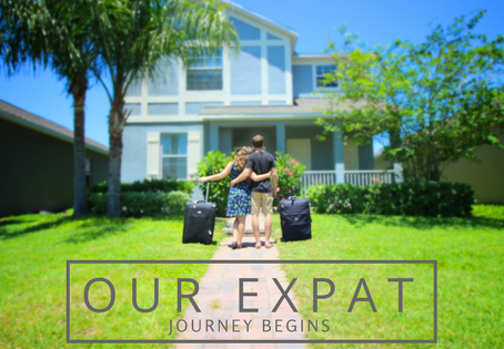 Our Expat Journey Begins