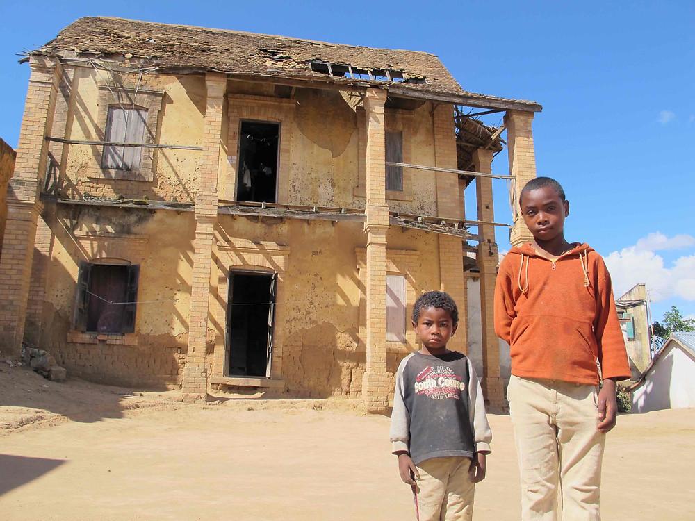 Eric et Fabrice de l'école Règne à Madagascar