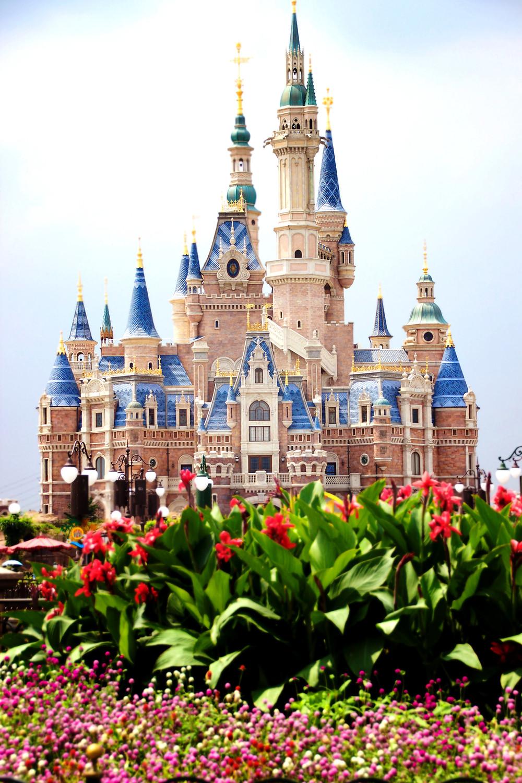 Shanghai Disneyland Castle Cait Without Borders