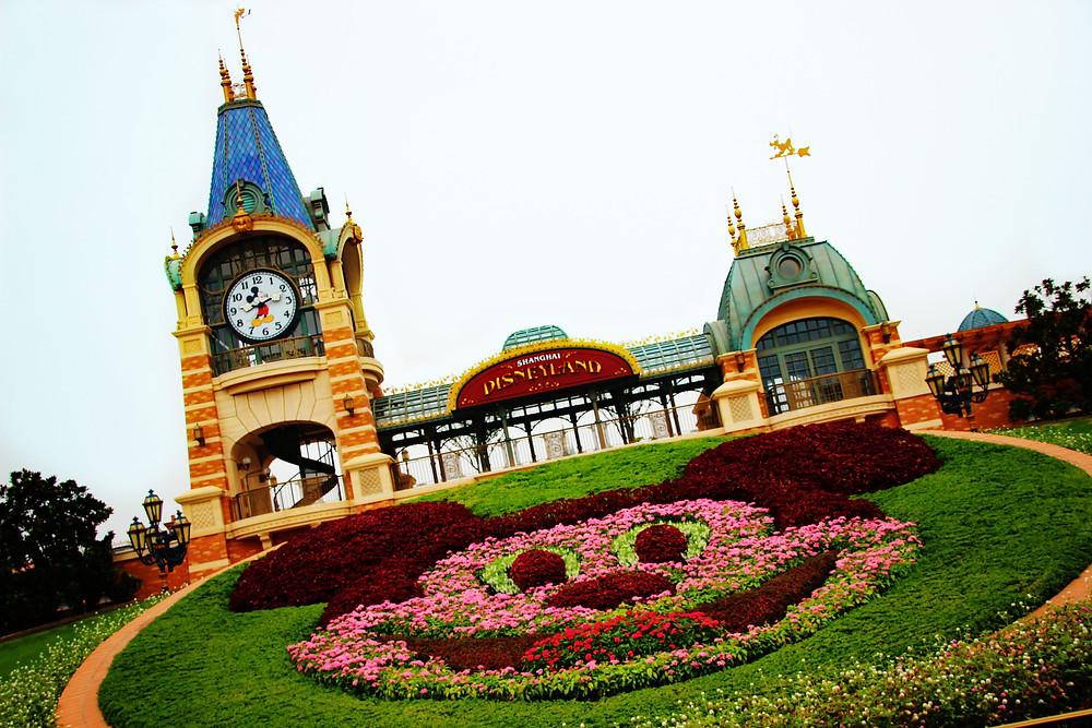 Shanghai Disney Main Entrance Cait Without Borders