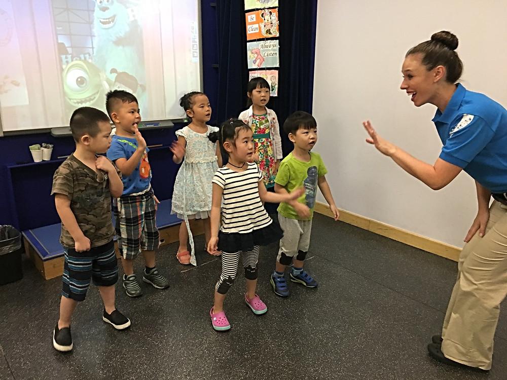 Teaching at Disney English