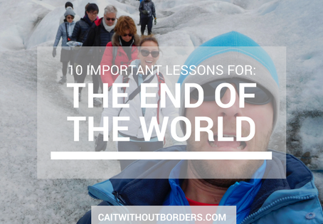 10 Important Lessons for the End of the World