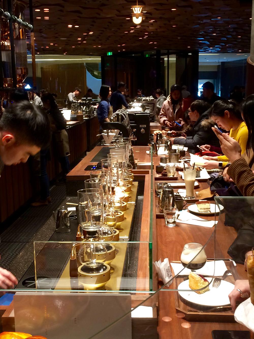 Starbucks Shanghai, the largest Starbucks in the world