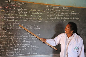qualité de l'enseignement, professeur donnant un cours