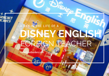 A Day in the Life of a Disney English Foreign Teacher