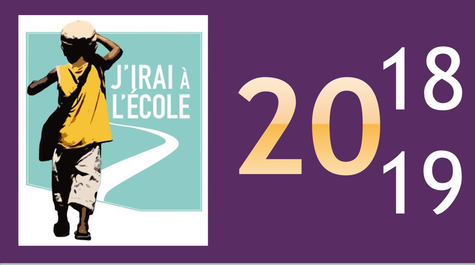logo de l'association JIAE avec l'année du rapport d'activité 2018/19