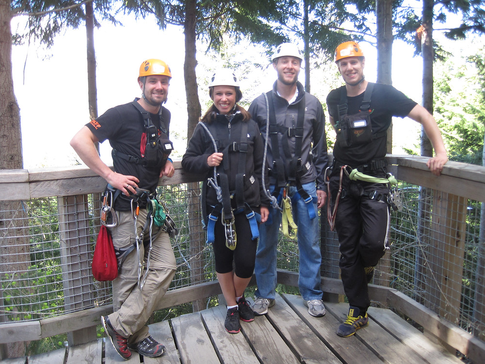 Ziptrek Ecotours Ziplining Tour Guides in New Zealand